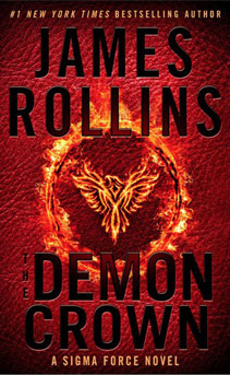 Image of James Rollins book cover Demon Crown